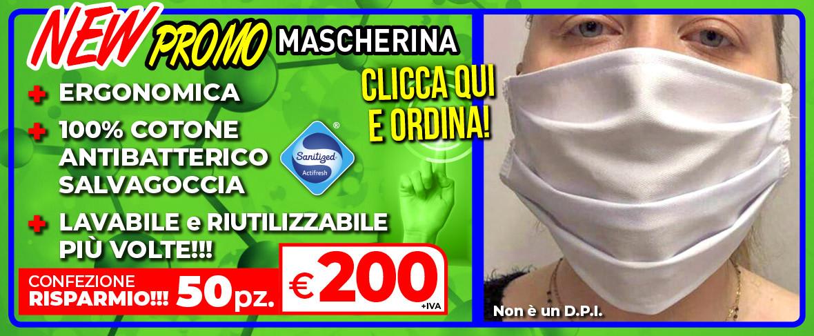 ColomboMario - SLIDE Promo MASCHERINA MEDICAL 9 aprile