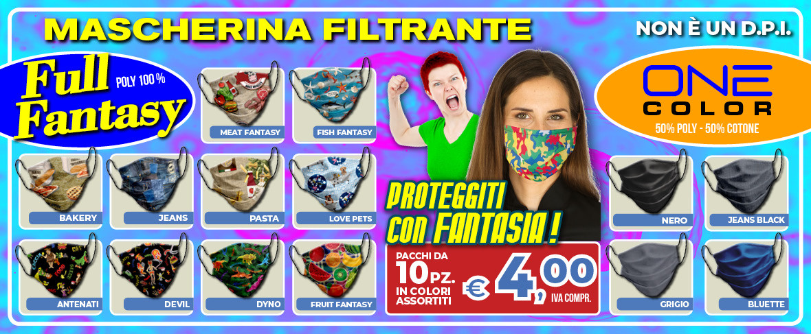 ColomboMario - SLIDE Promo Mascherina DONNA apr 2020