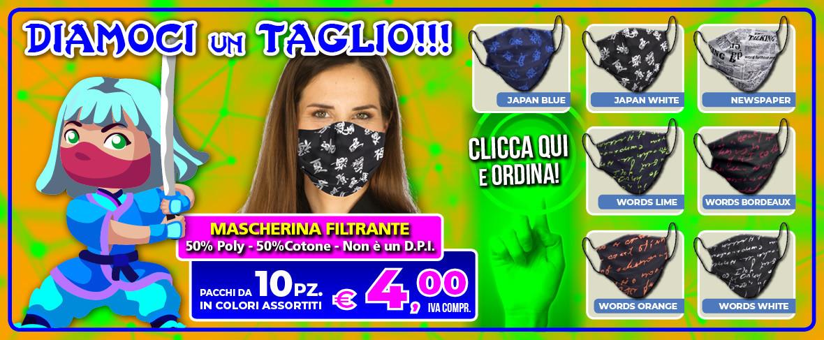 ColomboMario - SLIDE Promo Mascherina GIAPPONESE Mag 2020