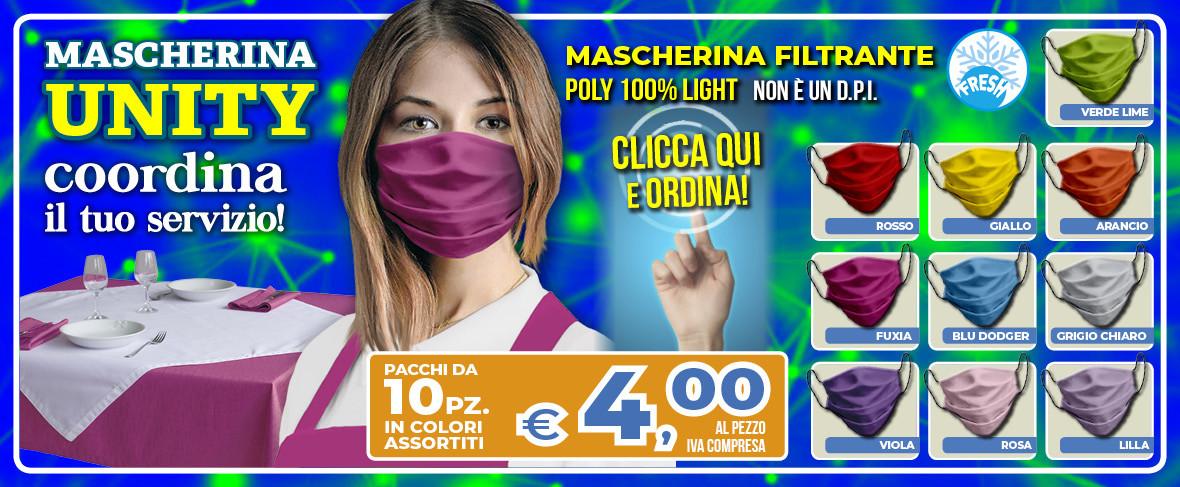 ColomboMario - SLIDE Promo Mascherina UNITY Donna Mag 2020